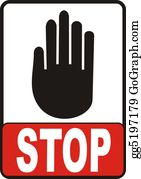 Hand-Sign - Stop Sign