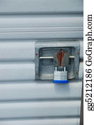 Self-Storage - Locked Door