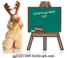 Antler - Dog Dressed As Rudolph