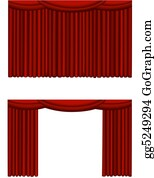 Movie-Production - Theater Curtain