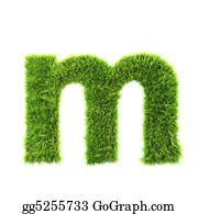 Prairie - Grass Lower-Case Letter