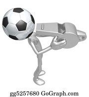 Football-Abstract - Soccer Football Whistle