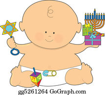 Safety-Pins-And-Diaper - Baby Hanukkah