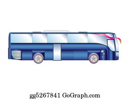 Bus-Drivers - Vector Illustration Urban / Suburban Passenger Bus Isolated On White Background.