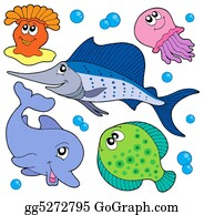 Seashell - Cute Marine Animals Collection 2