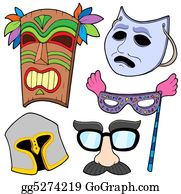 Tiki-Mask - Various Masks Collection 2