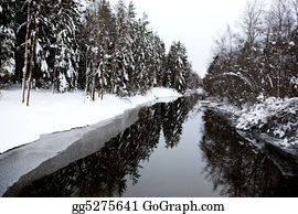 Freezing-Cold - Winter River