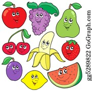 Grape-Leaf - Cartoon Fruits Collection 1