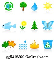 Recycle-Technology - Icon Set Environment