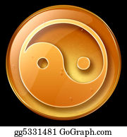 Prayer-Symbol - Yin Yang Symbol Icon