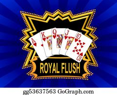 royal flush poker night inventory