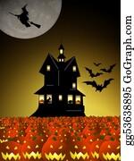 Scary-Pumpkin - Scary Halloween House
