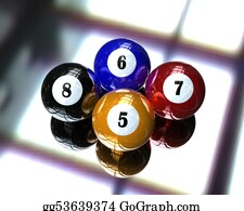 Cue-Ball - 4 Pool Billiard Ball