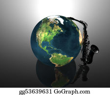 Sax - Earth And Saxaphone