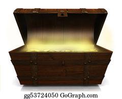 Treasure - Old Treasure Chest.
