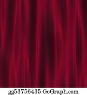Stage-Curtain - Crimson Curtain Drapery For Theatre