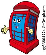 Public-Speaking - English Red Phone Booth
