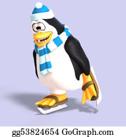 Growl - Male Toon Penguin