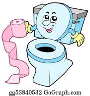 Lid - Cartoon Toilet
