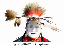 American-Indian - Caddo Dancer