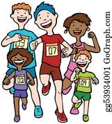 Runners - Marathon Kid Race