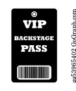 Admission-Ticket - Vip Backstage Pass