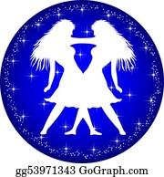 Zodiac - Zodiac Button Gemini