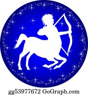 Zodiac - Zodiac Button Sagittarius