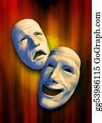 Sad - Theatre Masks