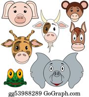 Goat-Cartoon - Animals Baby Set