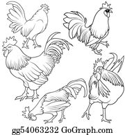 Poultry - Rooster Set
