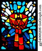Catholics - Stained Glass Goblet.