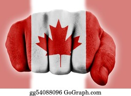 Fist - Fist With Canadian Flag