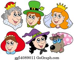 Happy-Woman-Leprechaun - Fairy Tale Portraits Collection