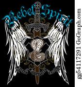Royal-Lion - Cross Heraldic Crest Eagle