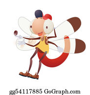 Stinging-Insect - Cartoon Insect