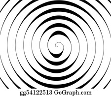 Coil - Detail Of A Black Spiral On White Background