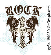 Royal-Lion - Cross Heraldic Crest Lion