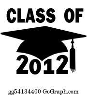 Graduation - Class Of 2012 College High School Graduation Cap