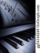 Music-Notes-On-Piano-Keyboard - Piano Elegance