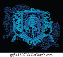 Royal-Lion - Heraldic Crest Element