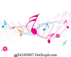 Musical-Notes - Musical Wave Of Musical Notes