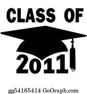 Graduation - Class Of 2011 College High School Graduation Cap