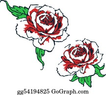 Classic-Victorian-Pattern - Fancy Rose Tribal Design