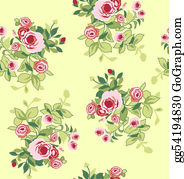 Paisley-Art - Seamless Flower Print