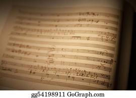 Choir - Sheet Of Musical Symbols