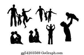 Babies-And-Toddlers-Silhouettes - Family Jpg Version