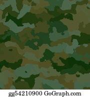 Tropical-Rainforest - Camouflage Pattern