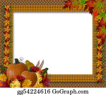 Fall-Harvest-Background - Thanksgiving Fall Autumn Border