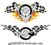 Badge - Sports Race Emblems - Second Set